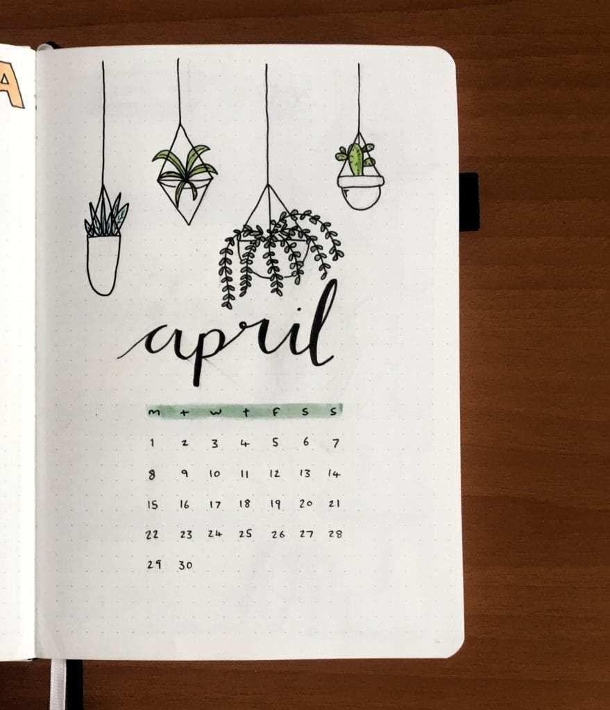 Sarah of @stationerymagpie | April Bullet Journal Feature | ElizabethJournals #bulletjournaljanuary
