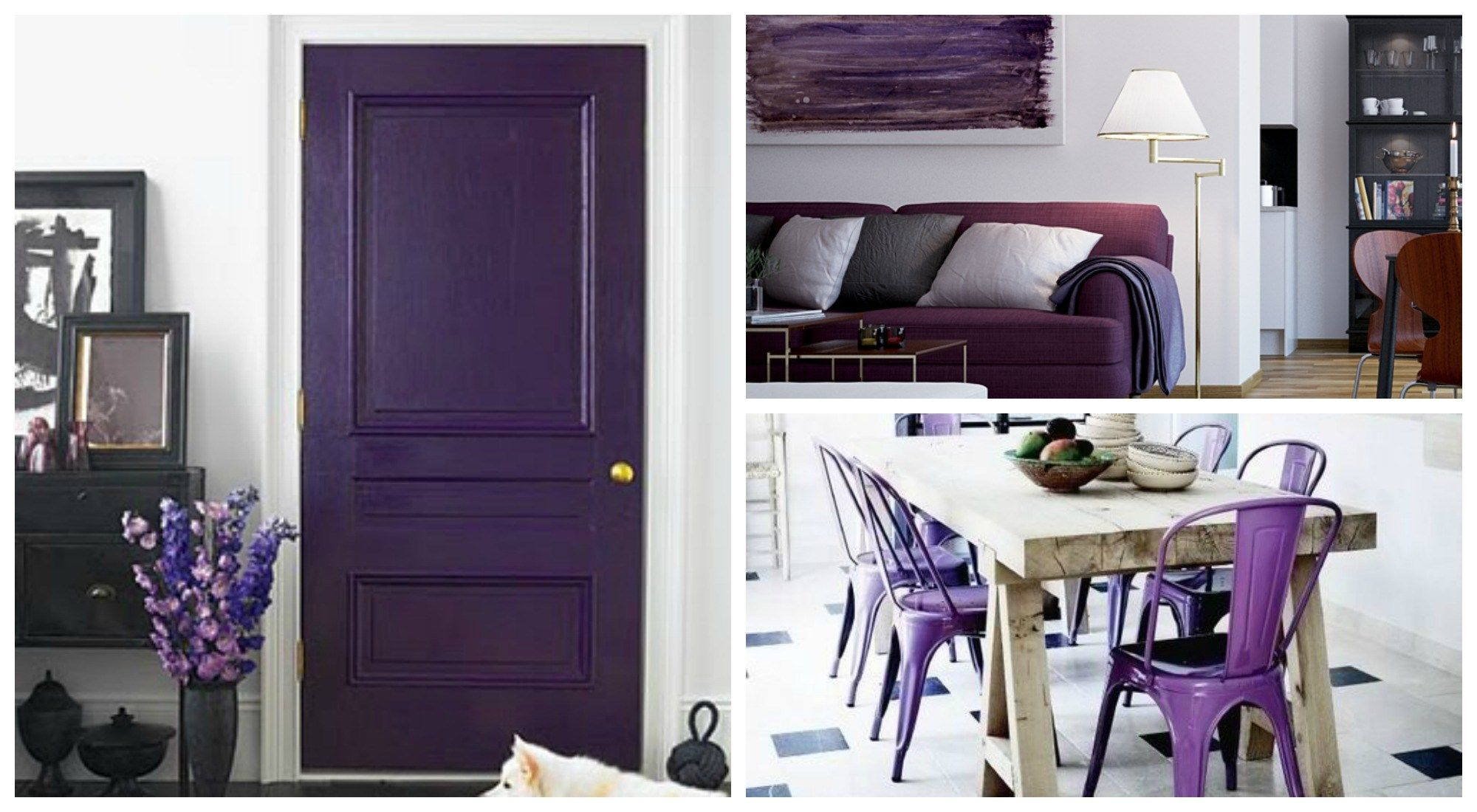 Purple Home Decor Give Your Home A Touch Of Royalty Purple Color