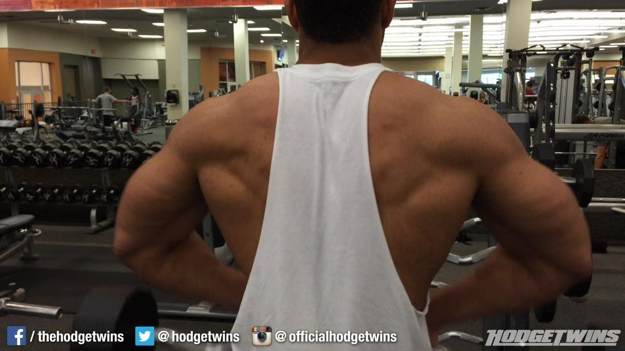 Shoulders & Traps & Biceps Workout @Hodgetwins | HodgeTwins World ...