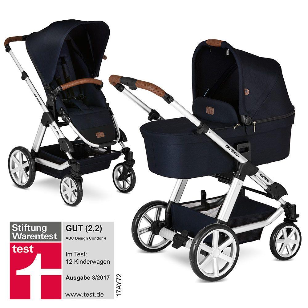 Abc Design Kombi Kinderwagen Condor 4 Inkl Babywanne