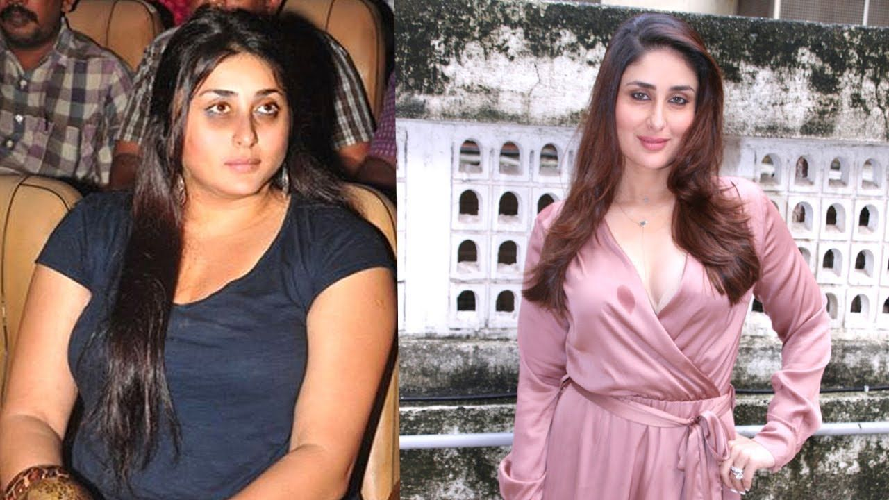 kareena kapoor's shocking transformation after pregnancy - fat to