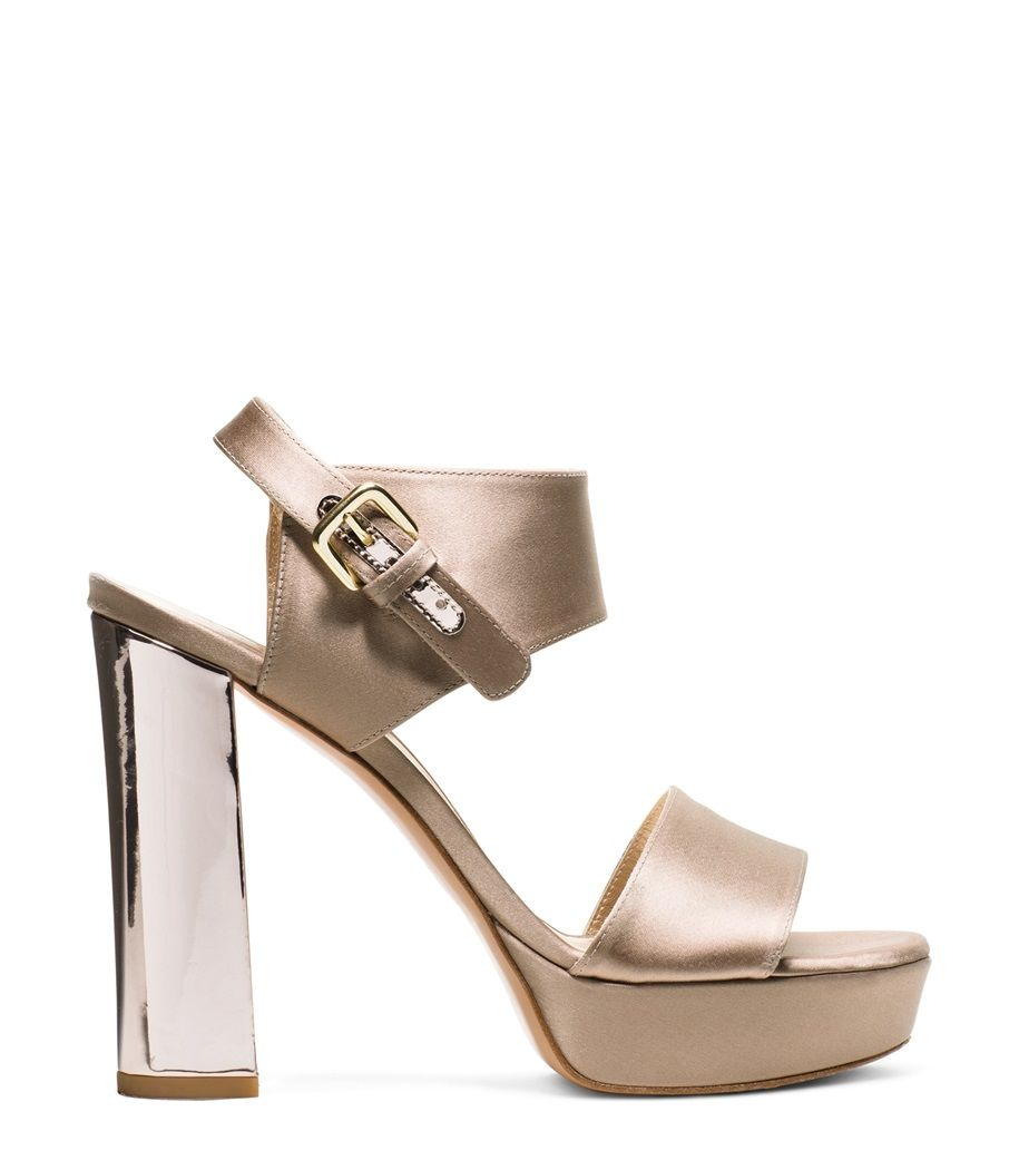 The Hottest Styles Stuart Weitzman Wedges Silver Lucite For Women Outlet