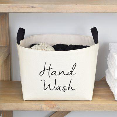 Rebrilliant Hand Wash Laundry Hamper Laundry Hamper Laundry