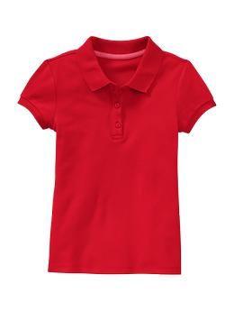 Uniform piqué short-sleeve polo  da0df4e4923c6