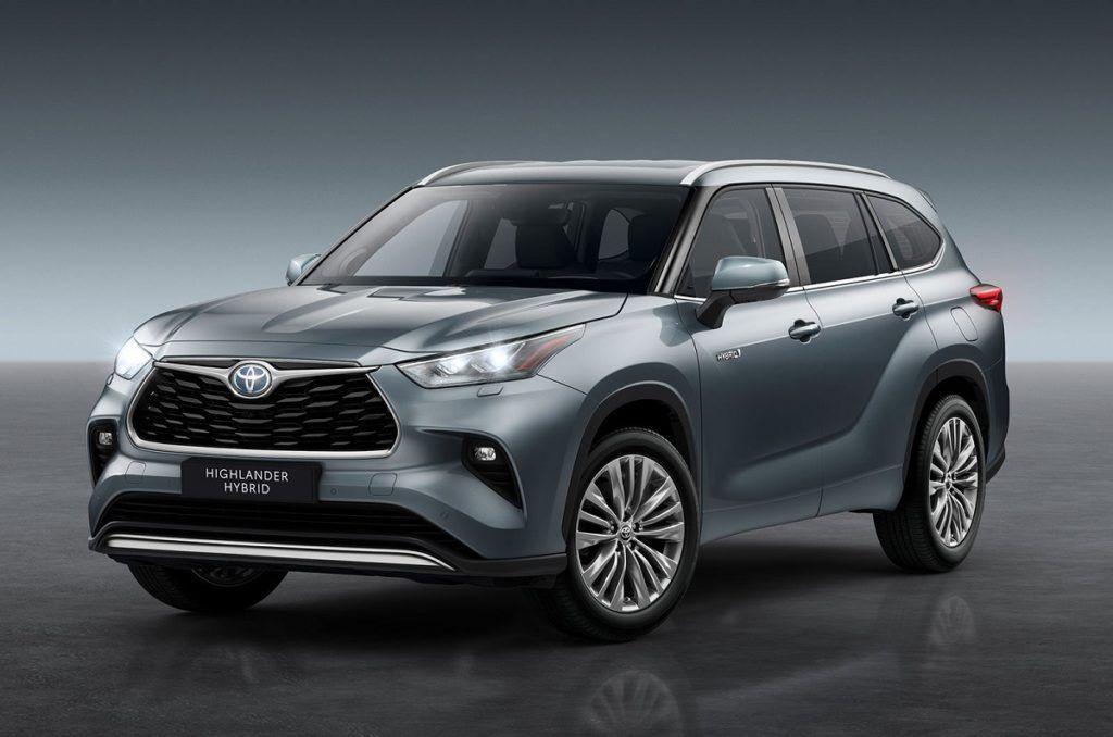 2021 Toyota Highlander Hybrid First Look Improvements In 2020 Toyota Highlander Toyota Hybrid Toyota Highlander Hybrid