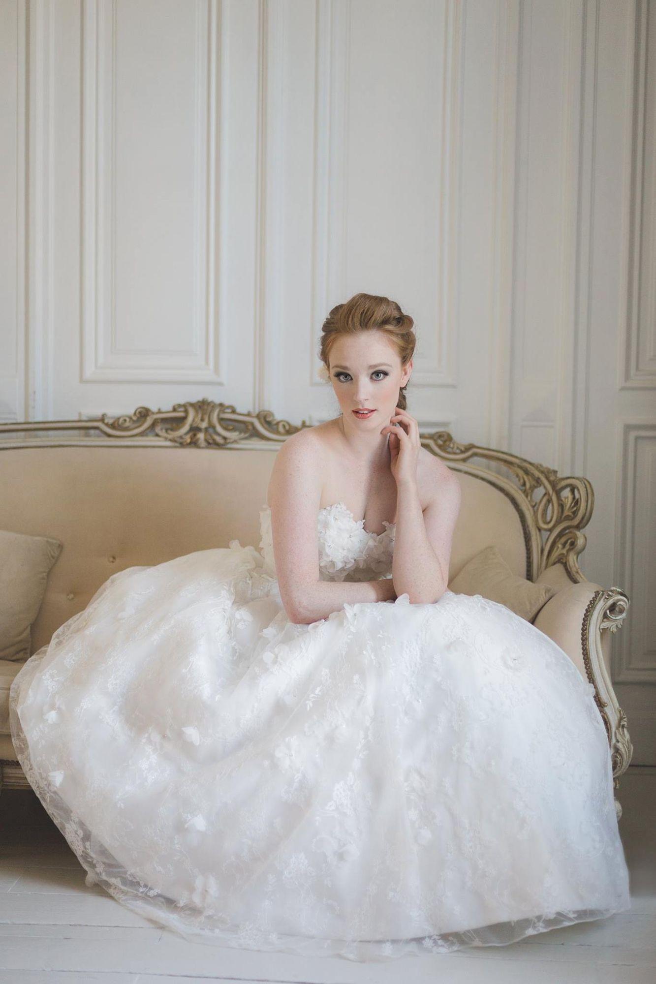 wedding hair prom hair braid redhead | My Bridal Hairstyle Portfolio ...
