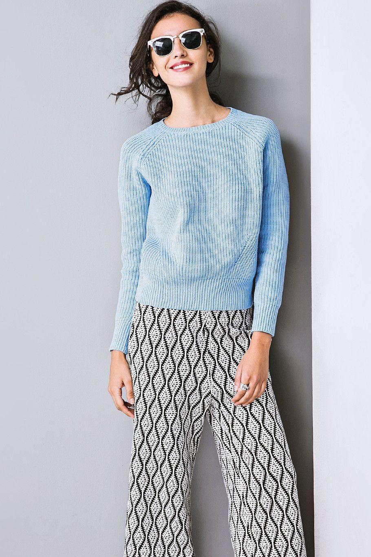 #AdoreWe Few Moda, Minimalistic Fashion Brands Online - Designer Few Moda Fab Fundamentals Sweater TP0571 - AdoreWe.com