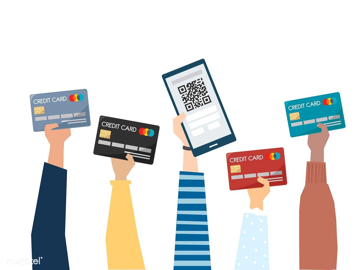 Download premium vector of illustration of online payment