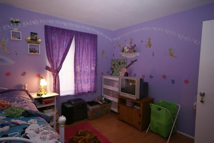 Awesome Tinkerbell Paint Bedroom Clutter Bad MLS Photos Ugly Home House