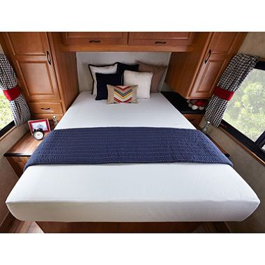 Night Therapy 10 Inch Memory Foam Rv Mattress Short Queen