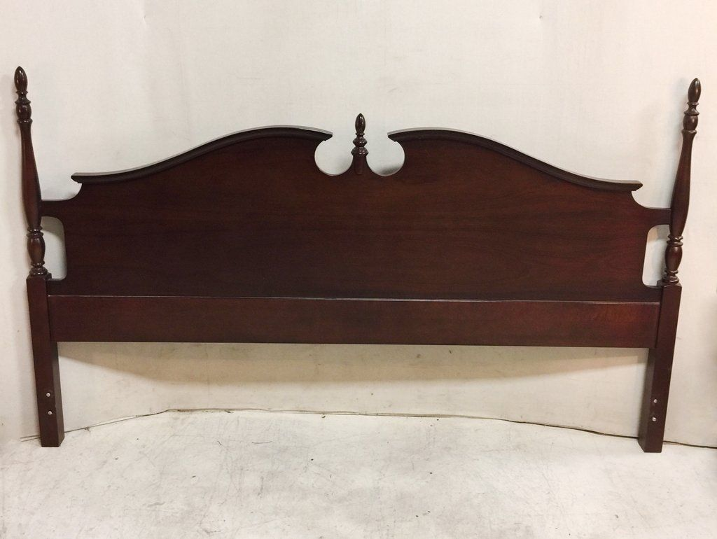 King Sized Solid Mahogany Headboard With Frame 165