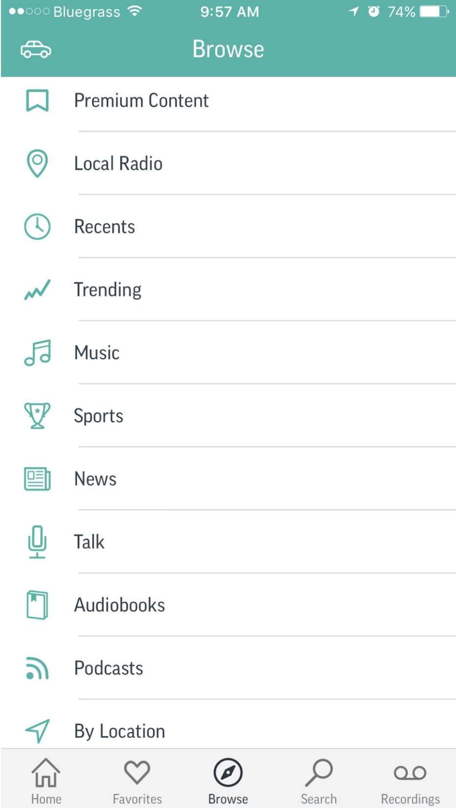 TuneIn Radio Lets your iPhone Receive a World of