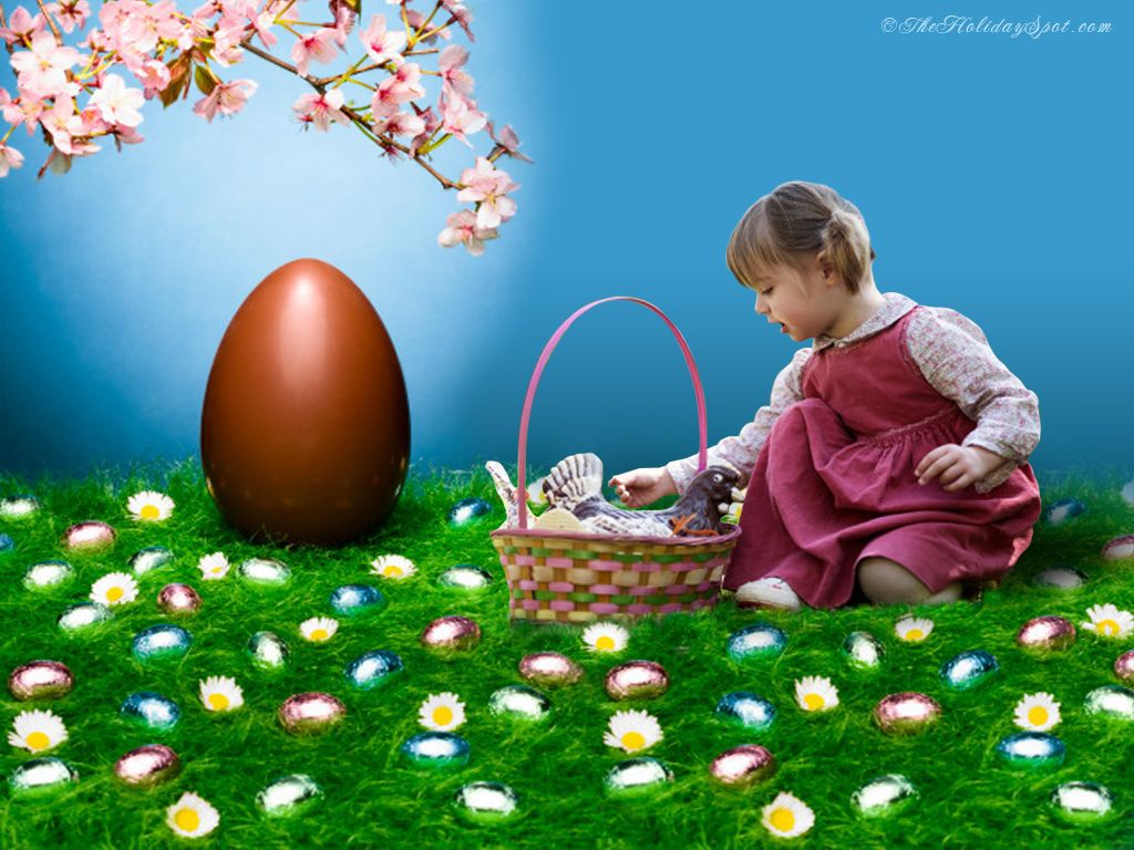 Easter Screensavers And Backgrounds At Holiday Wallpapers