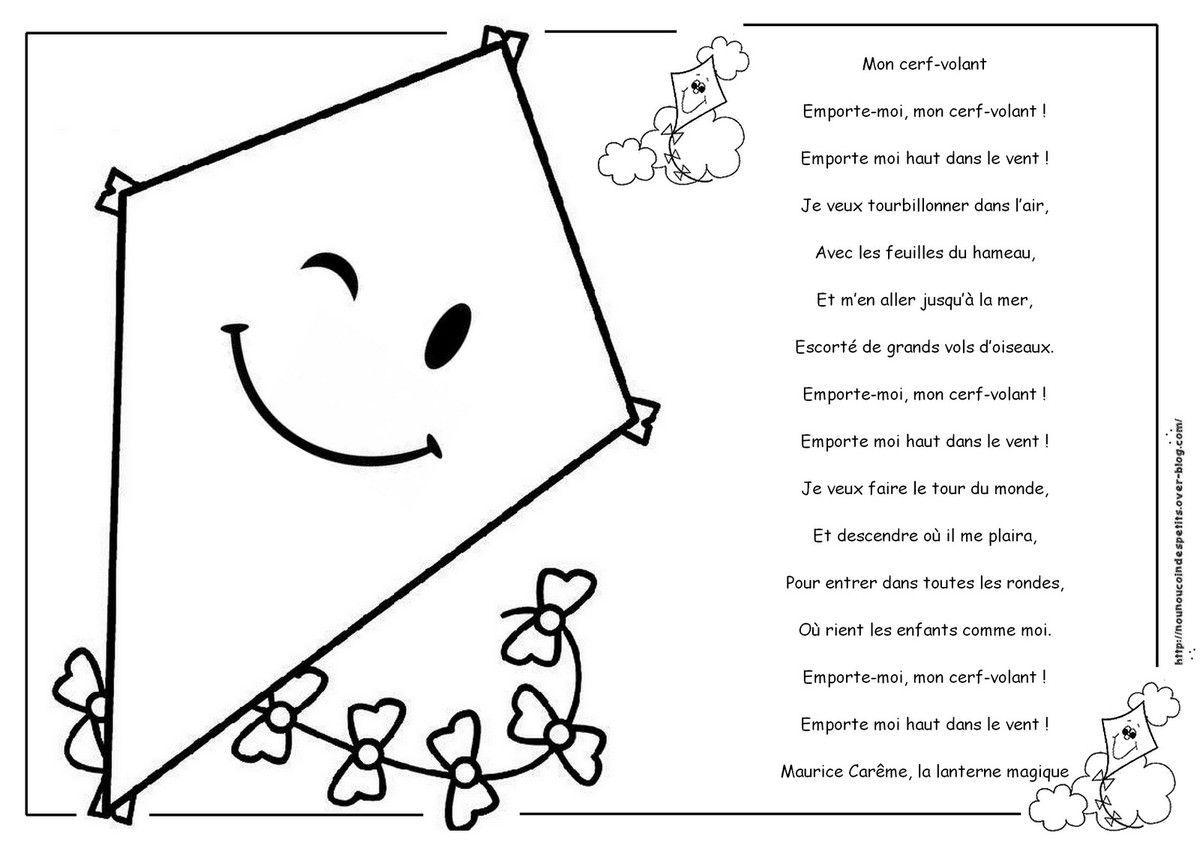 Cerf Volant Poeme