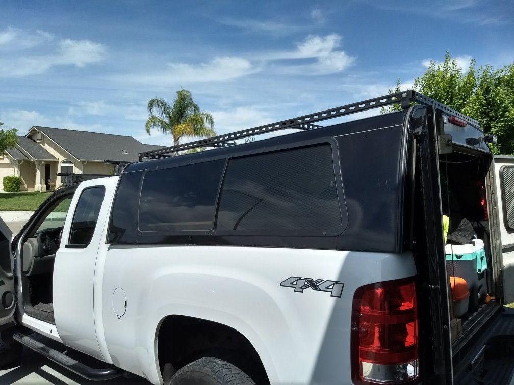 Diy Unistrut Roof Rack Roof Rack Work Truck Truck Caps
