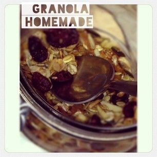 Gabulle in Wonderland : granola homemade : @gabulleinwonderland Instagram photos | Webstagram
