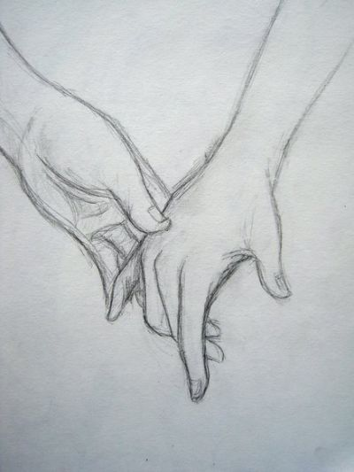 Drawing Holding Hands : drawing, holding, hands, Drawings, Couples, Holding, Hands, Pencil, Drawing, Images,, Drawings,