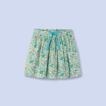 Jupe en tissu Liberty pour enfant, fille | girl girl couture ...