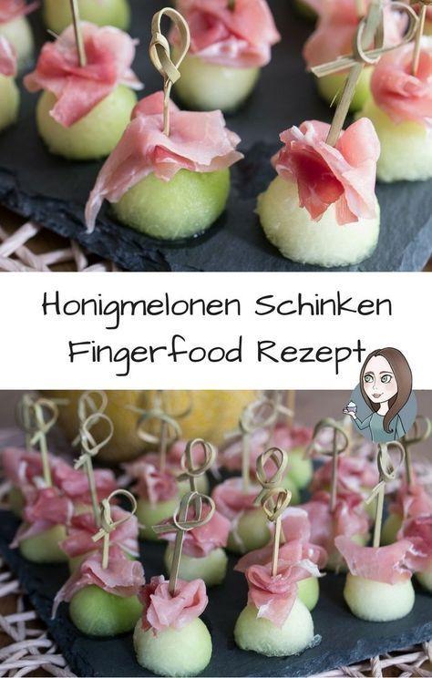 Honigmelone-Schinken-Fingerfood Rezept - MakeItSweet.de