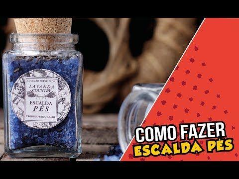 Escalda Pés Lavanda Country - Peter Paiva - Receita com
