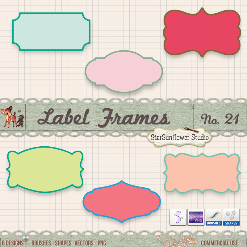 scalloped frames, scalloped frame digital, digital clipart, vintage borders, vintage frames, digital clipart, vintage clipart