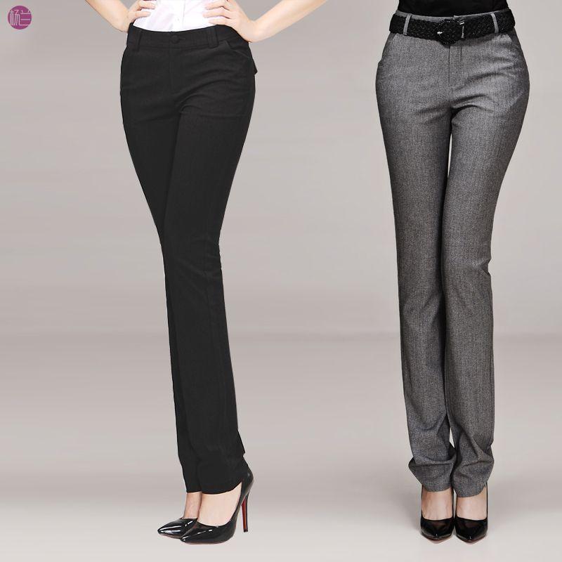 Pantanones De Vestir Para Mujer Cintura Alta