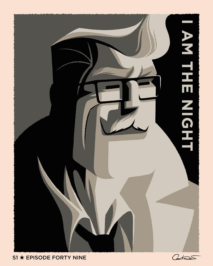 Batman The Animated Series S1 Episodic Posters (Full Set