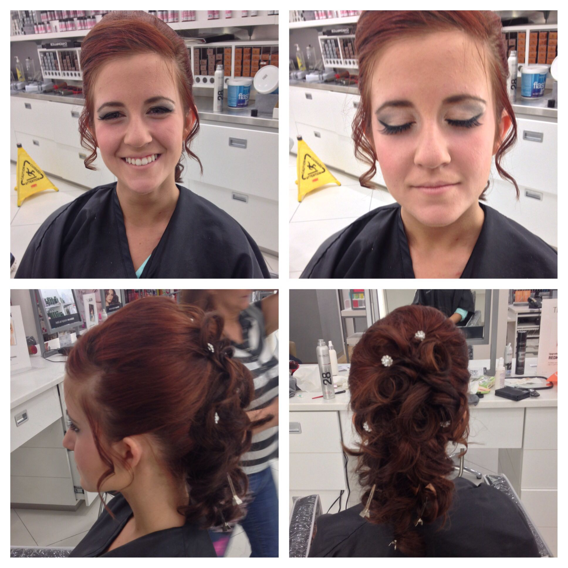 Prom Up Do At Ulta By Me Formal Hairstyles Hair Styles Beauty