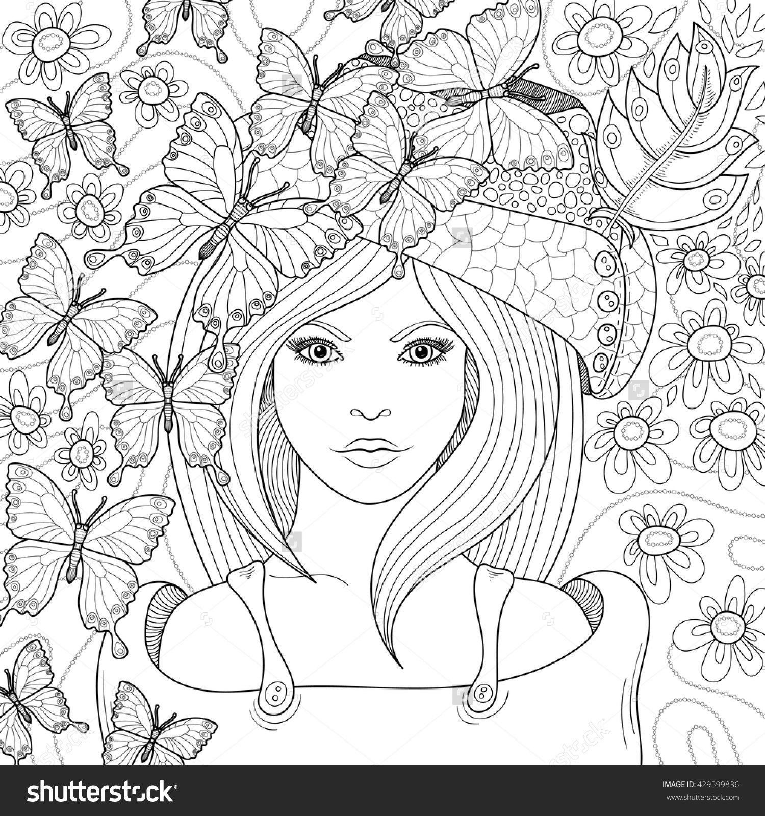 Anti stress colouring pages for adults - Anti Stress Coloring Book Page For Adult Coloring Book Page