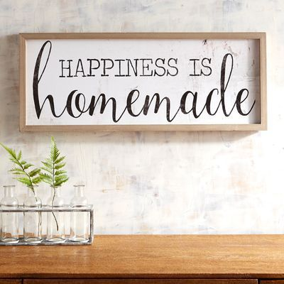 Happiness Is Homemade Wall Decor images