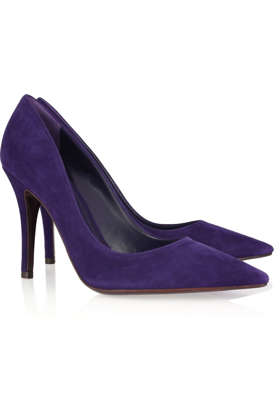 outlet extremely Ralph Lauren Suede Pointed-Toe Pumps outlet Manchester for sale discount sale C7gxxA