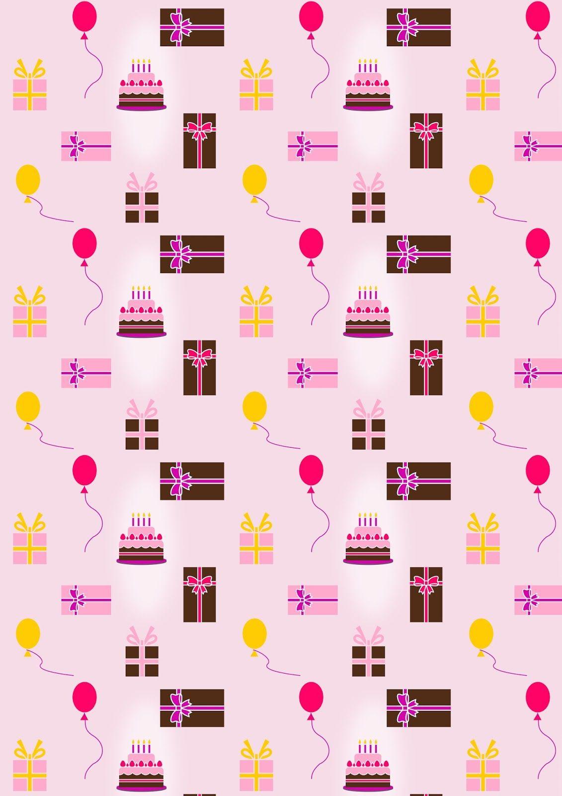 Free Digital Birthday Scrapbooking Paper Ausdruckbares Geschenkpapier Freebie Meinl Printable Paper Patterns Paper Pattern Free Printable Scrapbook Paper