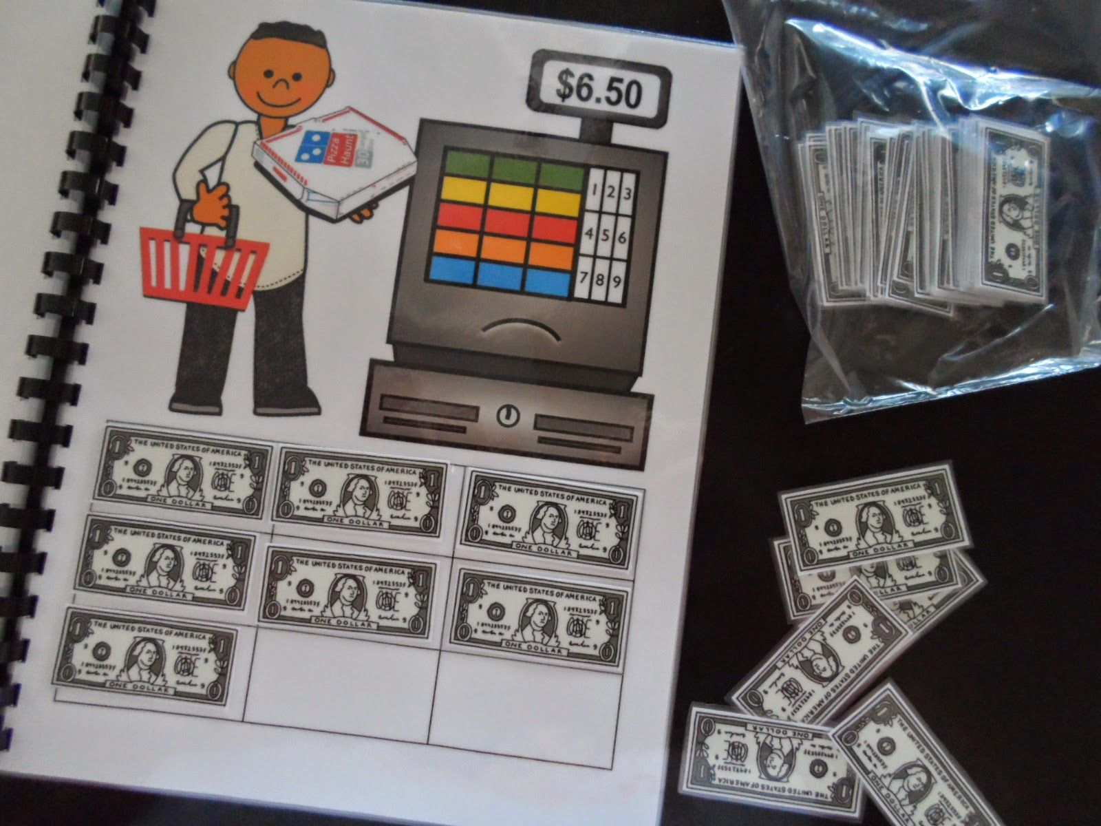 Dollar Up Activity Book