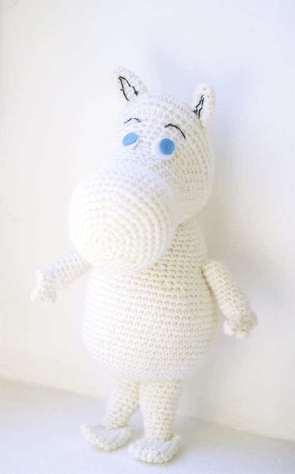 Moomin free Amigurumi pattern | Amigurumi, Häkelmuster und Kostenlos