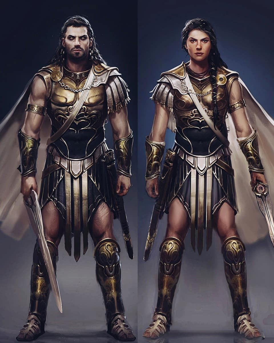 In My Opinion Alexios Deimos Looks More Badass And Lethal Than