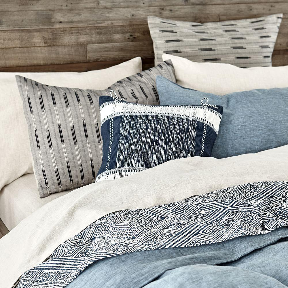 Organic Braided Matelasse Duvet Cover Amp Shams Striped Duvet Covers Striped Duvet Bed Linens Luxury