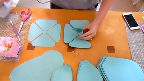 Make your own giant paper roses using our large paper rose template patterns. Printable rose templates and SVG cut files for Cricut machines!
