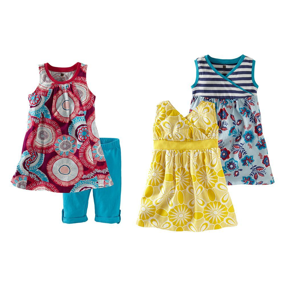 Yellow dress kids  Nova Piece Set  Tea Collection  Pinterest  Clothing sets and