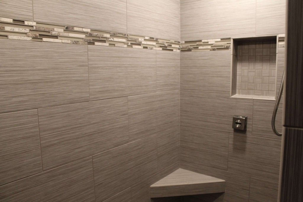 3 Tile Feature Options For Your Bathroom Showers Pinterest