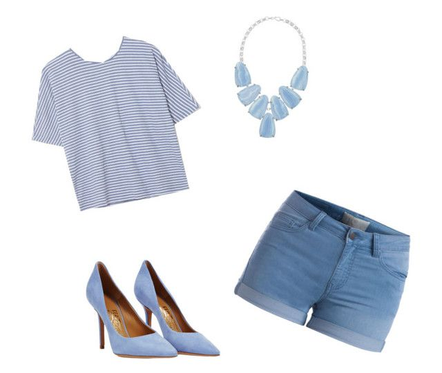 """""""Blue"""" by pokadots101 ❤ liked on Polyvore"""
