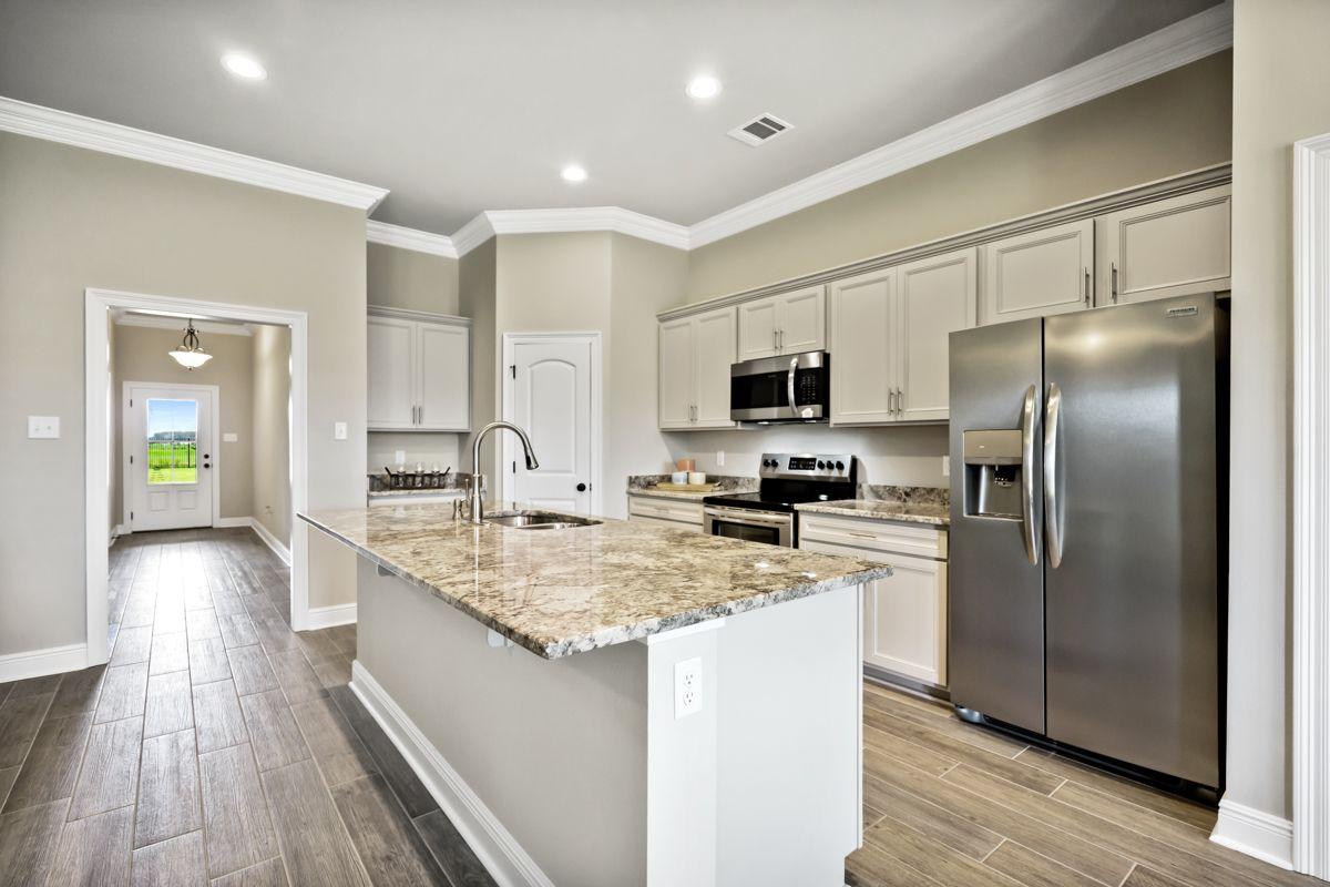 Best Cabinet Color Lillian Pure Style Glacier Gray Granite 400 x 300