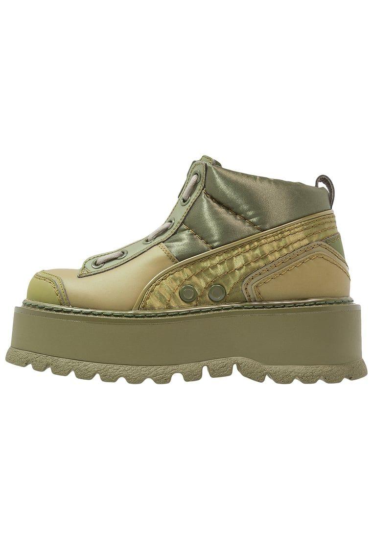sports shoes 9d86c e453d Fenty PUMA by Rihanna Tenisówki i Trampki wysokie - cypress ...