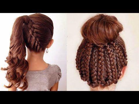 Peinados Para Ninas Faciles 2018 Peinados Para Nina De Fiesta