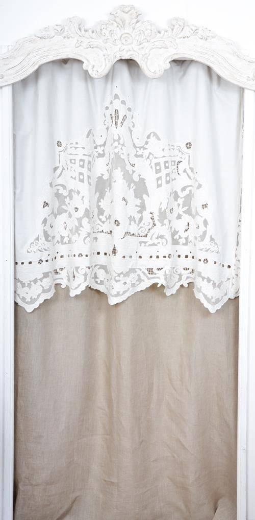 rideaux rideau brodes voilages