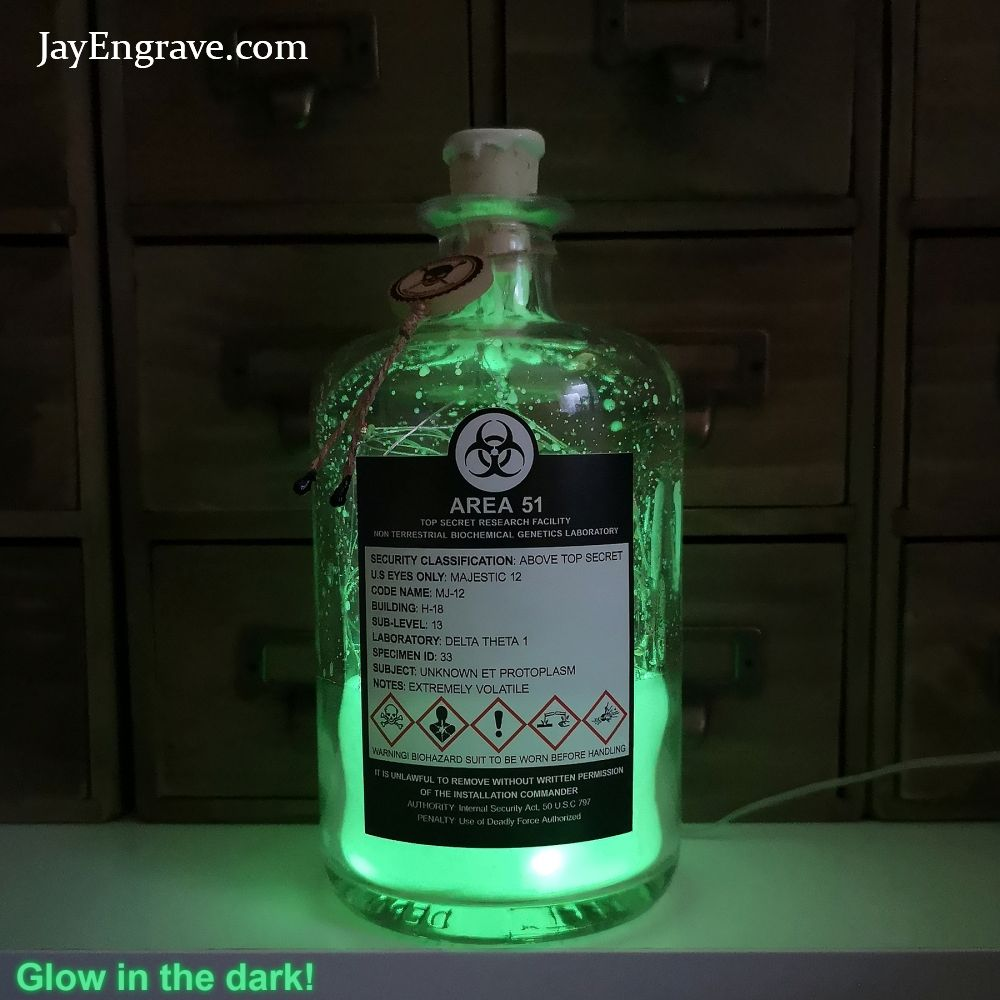 51 Top 700ml Glow Lab Area In Secret Biochemical Genetics The Dark srtdhQ