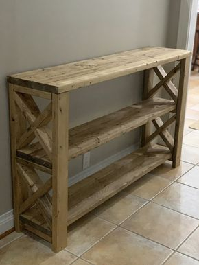 Pin By Mitchell Graves On Farmhouse Furniture In 2020 Wood Furniture Diy Bookshelves Diy Farmhouse Furniture
