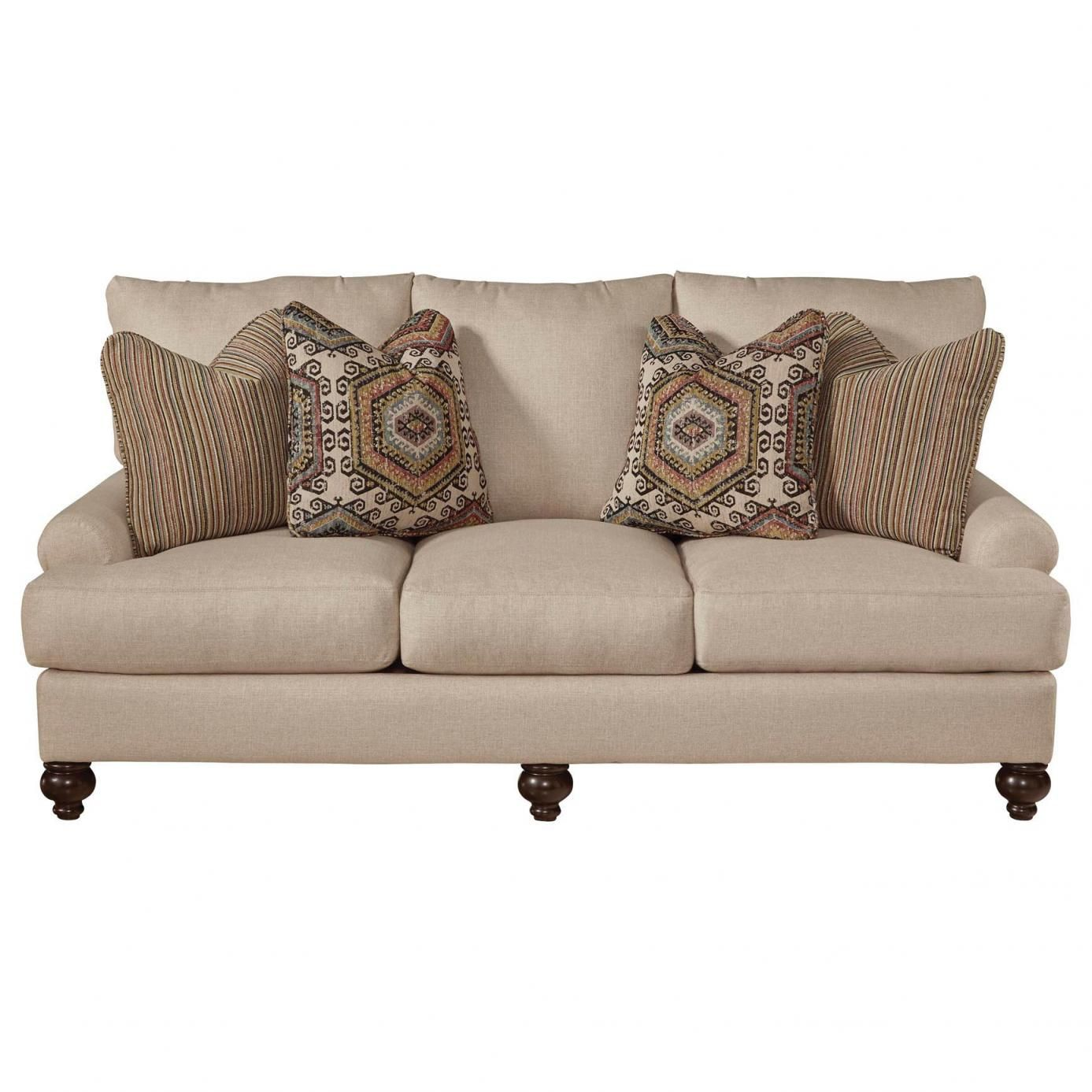 Charmant Jackson Platinum Westchester Sofa In Fiesta And Hemp