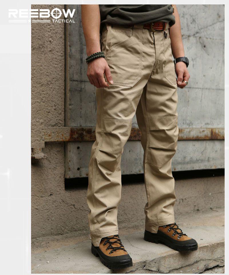 Algodon Deportes Al Aire Libre Pantalones Hombres Tactical Militar Pantalones Cargo Urban Swat Combate Monos Panta Cotton Pants Men Tactical Pants Combat Pants