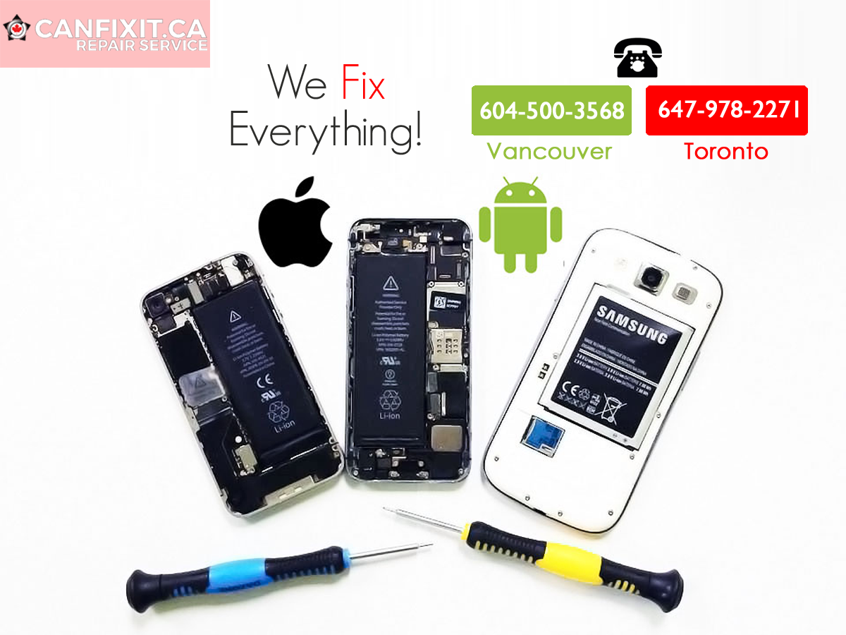 Whether its android or iOS, we fix everything! CanFixIt