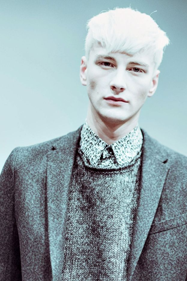 Benjamin Jarvis, backstage at Fendi FW14 by Morgan O'Donovan.